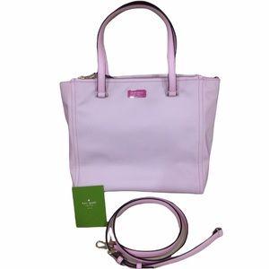 NWOT Kate Spade Pink Tote Satchel Purse Bag